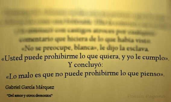 Gabriel Garcia Marquez.....love this!!