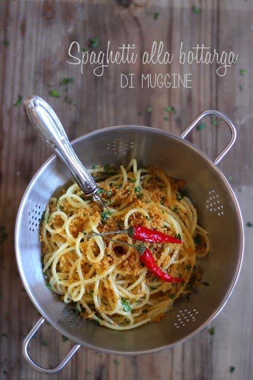 MIEL & RICOTTA: Spaghetti alla bottarga di muggine