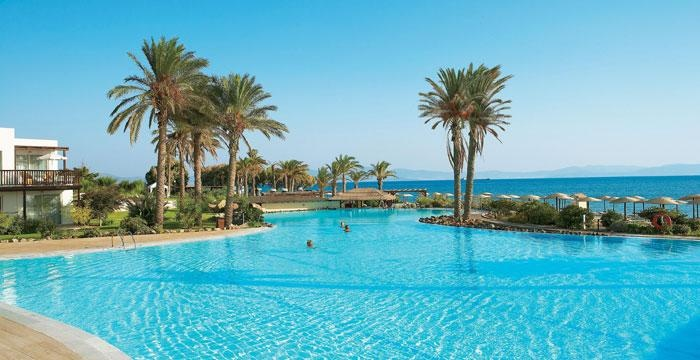 The almost tropical Ideales swimming pool of Grecotel Kos Imperial.