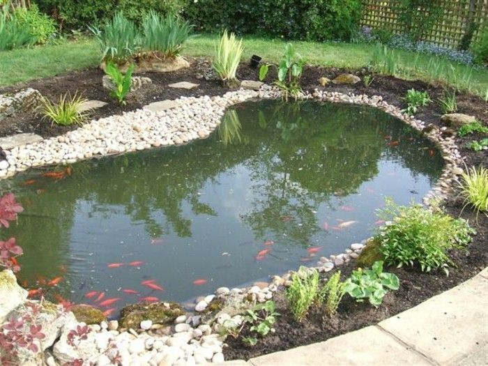 Gartenteich Anlegen Idee Zum Thema Kleinen Gartenteich Anlegen