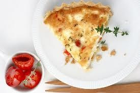 Peppadew, Feta, and Thyme Quiche  fitting breakfast for any morning!