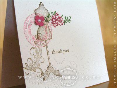 Established Elegance Thank You Cards