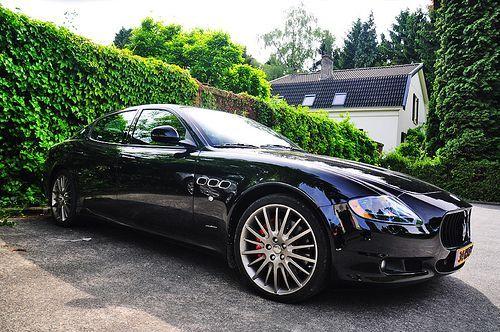 awesome Maserati Quattroporte - so fun to drive!!... Right to abundance
