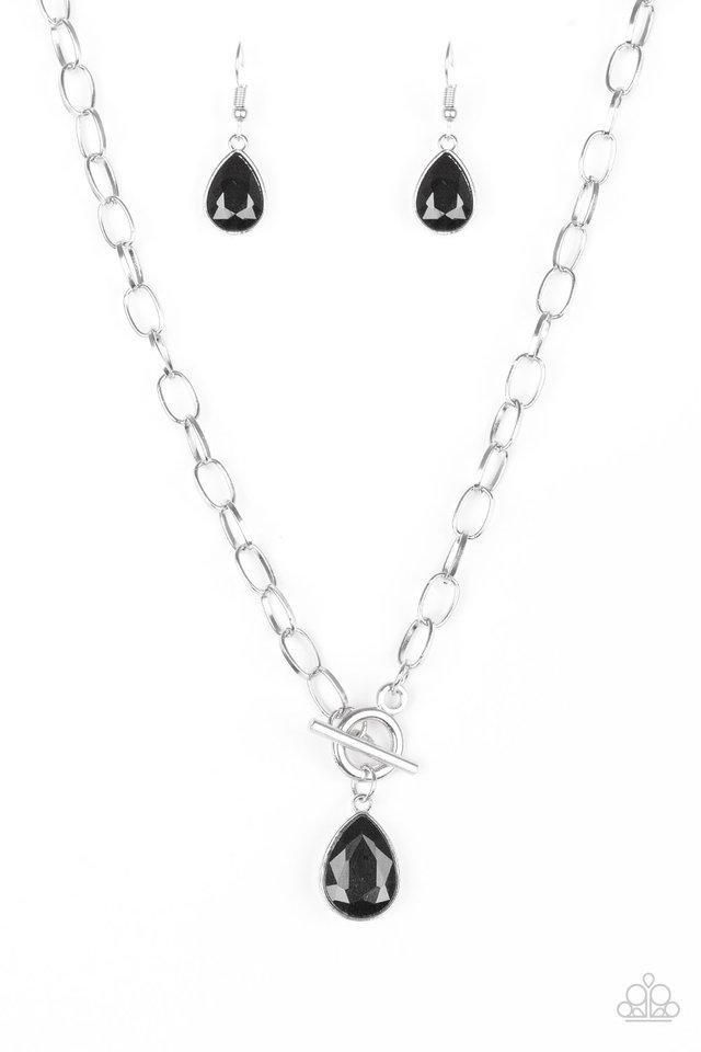 892eed481cf61 So Sorority Black Necklace | Paparazzi Accessories | $5.00 in 2019 ...