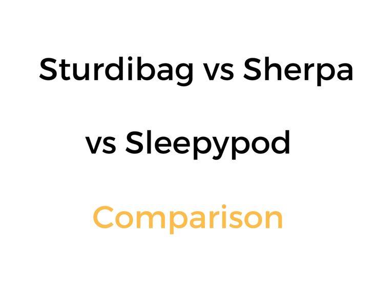 Sturdibag vs Sherpa vs Sleepypod Pet Carrier Comparison