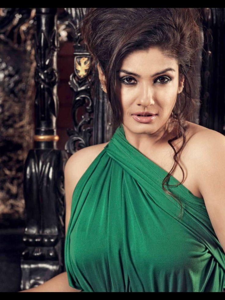 Raveena Tandon Indian actresses, Women, One shoulder blouse