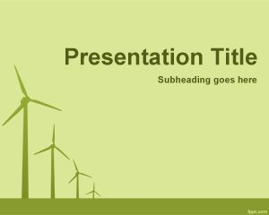 Air Energy PowerPoint Template