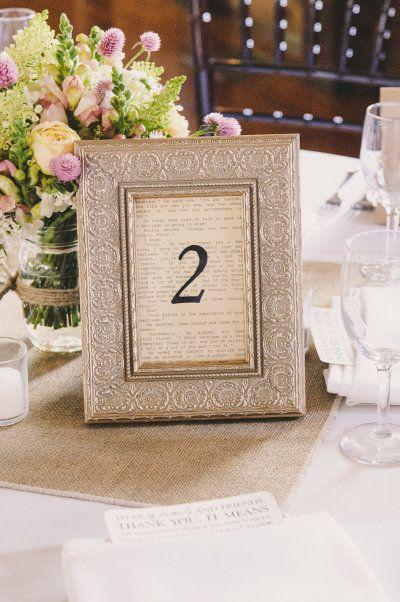 os proponemos diferentes y bonitas ideas de numeracin de mesas para que te sirvan de inspiracin