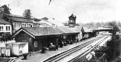 Tank Road railway station-1900