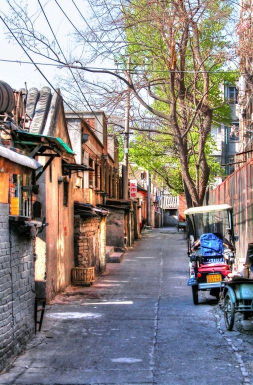 Hutongs, Beijing, China.