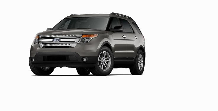 New 2014 Ford Explorer XLT (Gray SUV) | Charleston