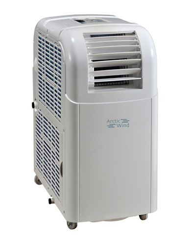 Arctic Wind 8000 BTU Three-in-One Portable Air Conditioner Women's Whi