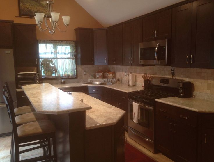 White Granite Countertops Kitchen Modern