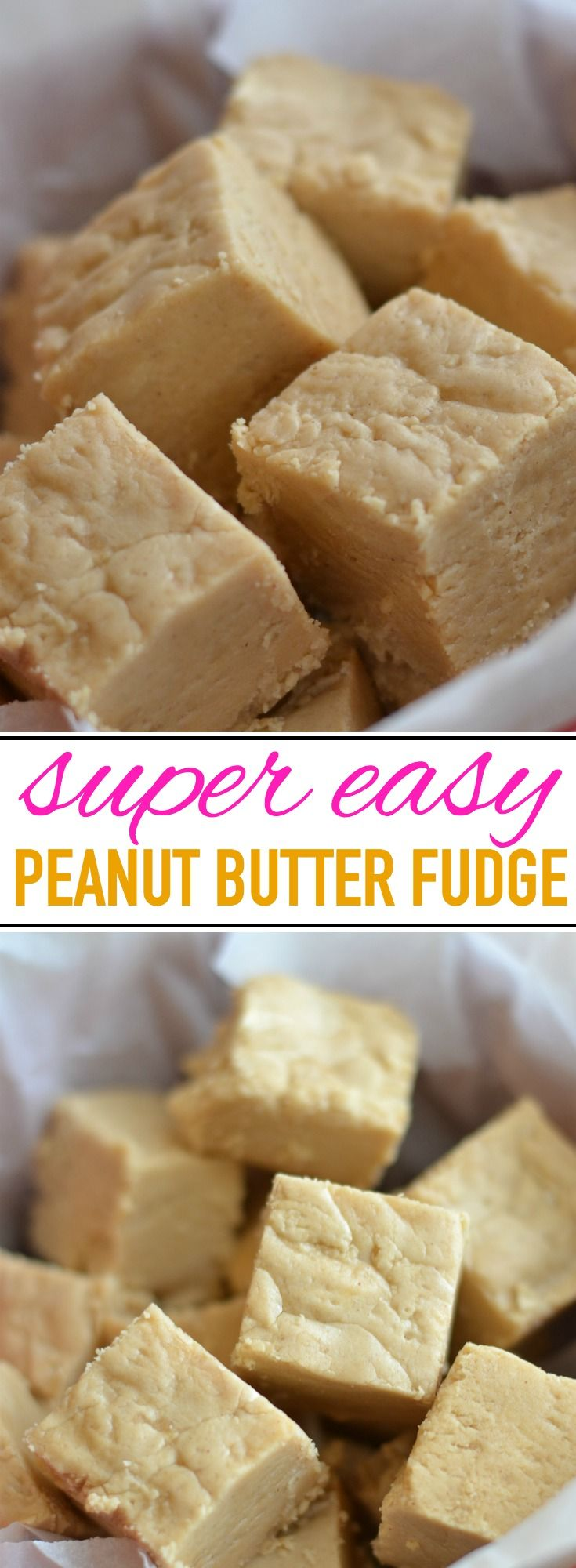 Delicious and easy peanut butter fudge recipe, passed down for generations!