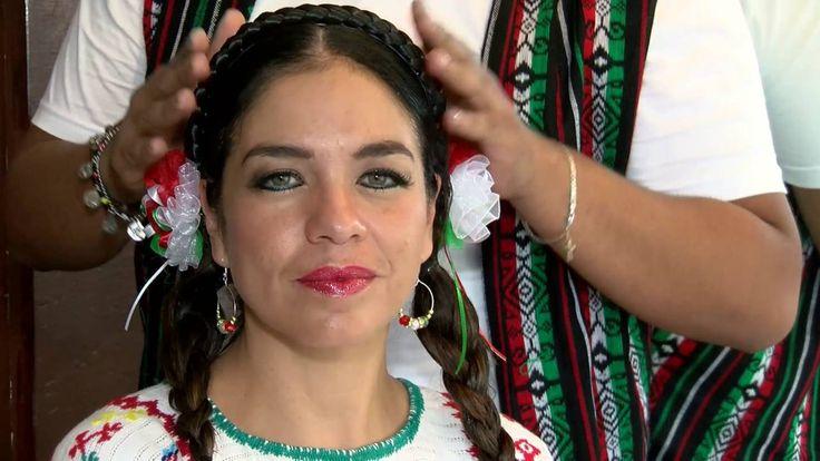 Especial Patrio: Peinados fáciles mexicanos - YouTube