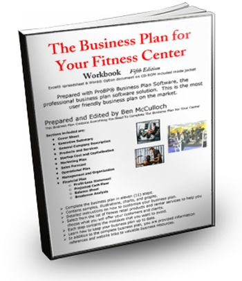 business plan fitness center company