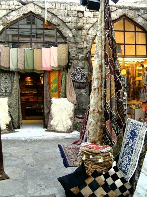 Marmaris, Turkey/Fabrics, Textures