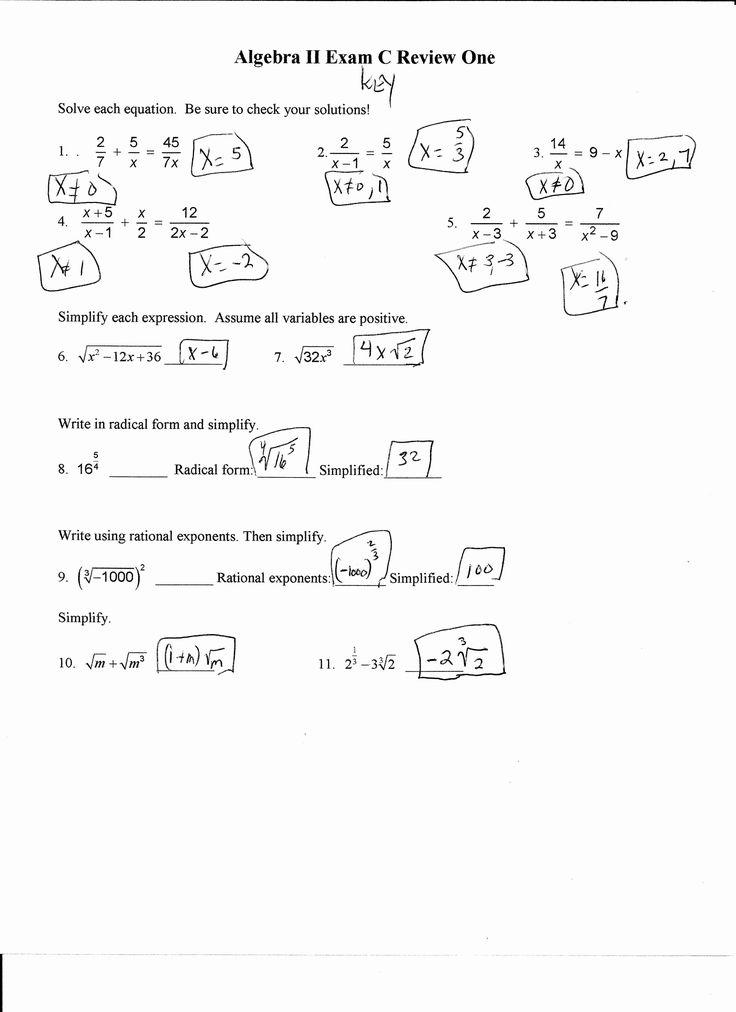 Literal Equations Worksheet Answer Key Best Of Literal