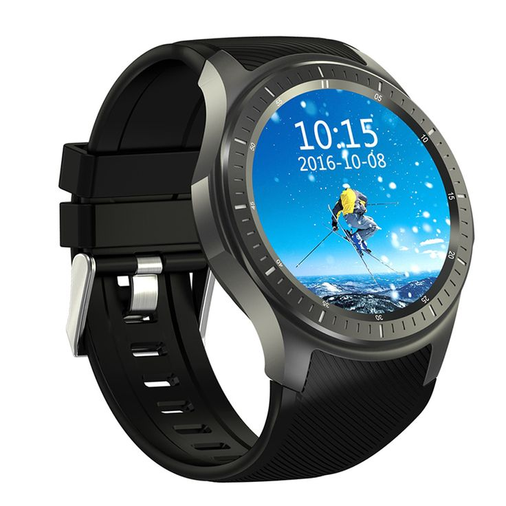 DOMINO DM368 3G Smartwatch - Android OS, Quad-Core CPU, 1 IMEI, Bluetooth 4.0, 3G, 8GB Storage, 400mAh Battery (Black) - The DOMINO DM368 3G Smartwatch allows you to slide in a SIM card. With its Android OS, it lets you enjoy all basic smartphone features from your wrist.