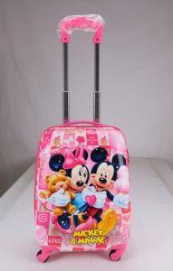 Fashion Colorful Carton Children Luggage/Kids Trolley
