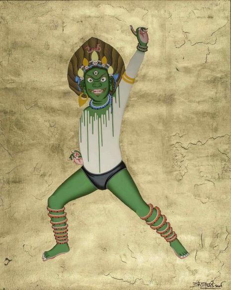 Victorious Green Spirit
