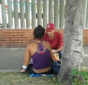 Omar Ávila invitó a colaborar con venezolanos que están pasando hambre
