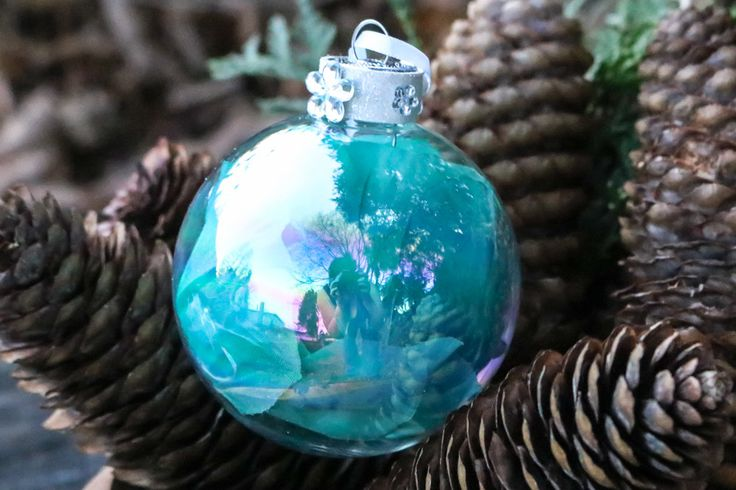 SALE!!! Rose Petal Flower Aqua Teal Turquoise Blue Diamond Glass Round Ornament, White Glitter Crystal Bead Gem Christmas Holiday Tree Decor by DetailsDelights on Etsy  Handmade Gifts and Beautiful Decor by Details and Delights. Shop at: http://DetailsDelights.com. Like and Share on Facebook at: https://www.facebook.com/DetailsandDelights/. Sign-Up for our weekly newsletters here: http://eepurl.com/cql2Hz