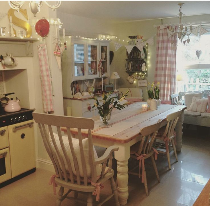 Interesting Facts About Shabby Chic Country Kitchen Design: 1000+ Images About Pinks And Pastel Interiors On Pinterest