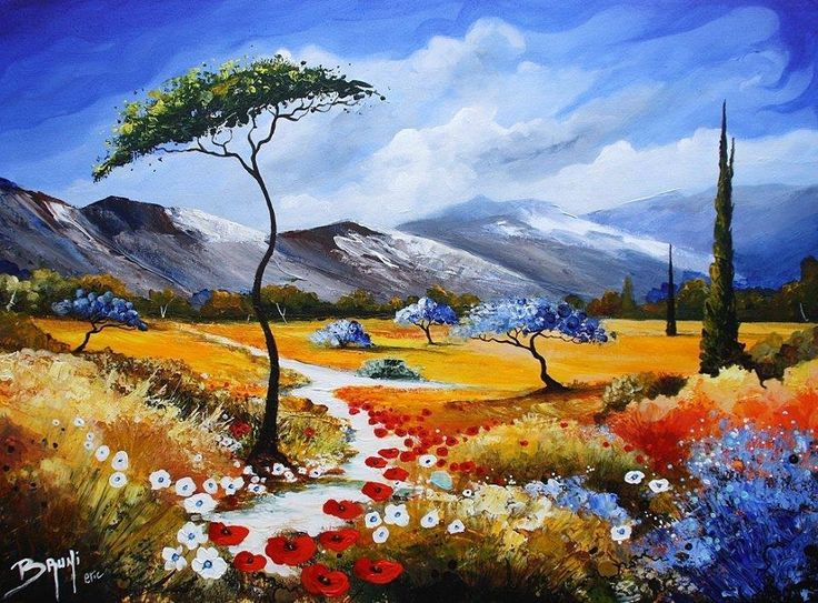 Pretty Landscape Painting
