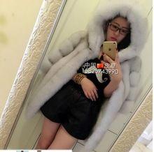2016 Yeni Moda Faux Fox Kürk Kadın Kış Orta Uzun kısa Lüks Sahte Kürk Mantolar Kadın Kapüşonlu Ceket Palto Vizon Ceket(China (Mainland))