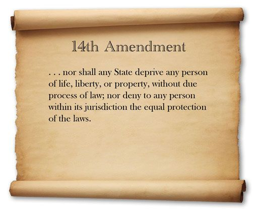 an introduction to the history of the fourteenth amendment Introduction time it adopted the fourteenth amendment,  as the long history of com-pelled self-incrimination is admittedly tangled.