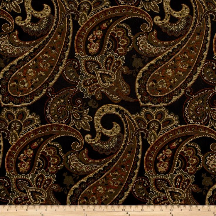 Eroica Candytuft Jacquard Storm from @fabricdotcom  This lightweight woven jacquard fabric is very versatile and perfect for window treatments (draperies, curtains, valances, swags), duvet covers, pillow shams, toss pillows, slipcovers and upholstery. Colors include black, burnt orange, brown, tan, and olive green.