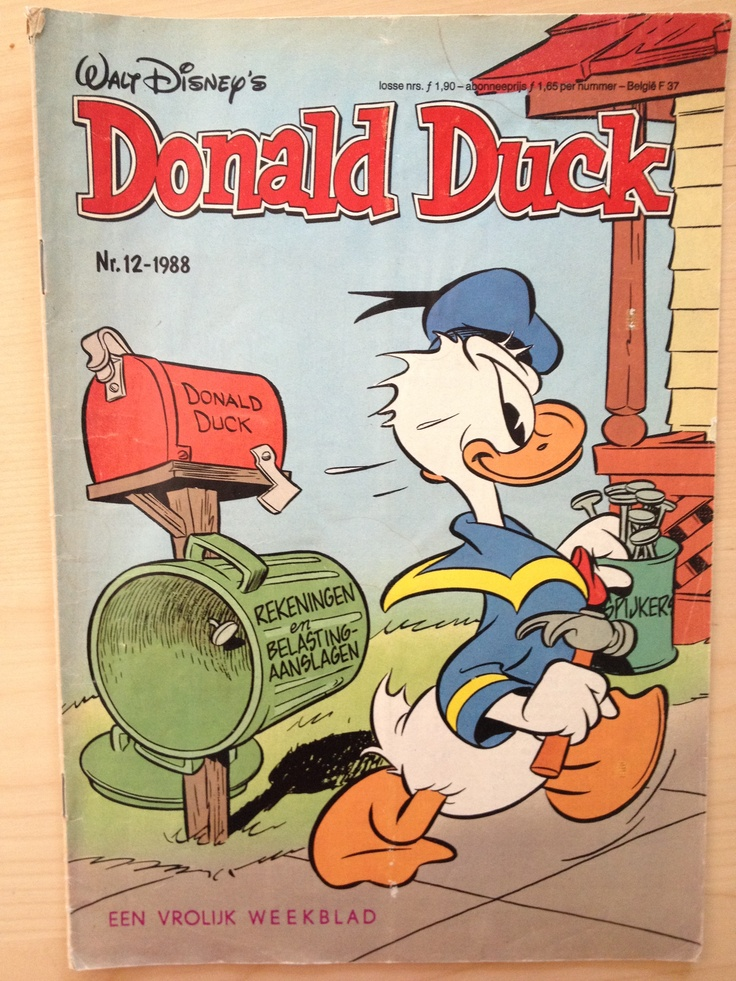 Donald Duck magazine, I had a subscription for several years!