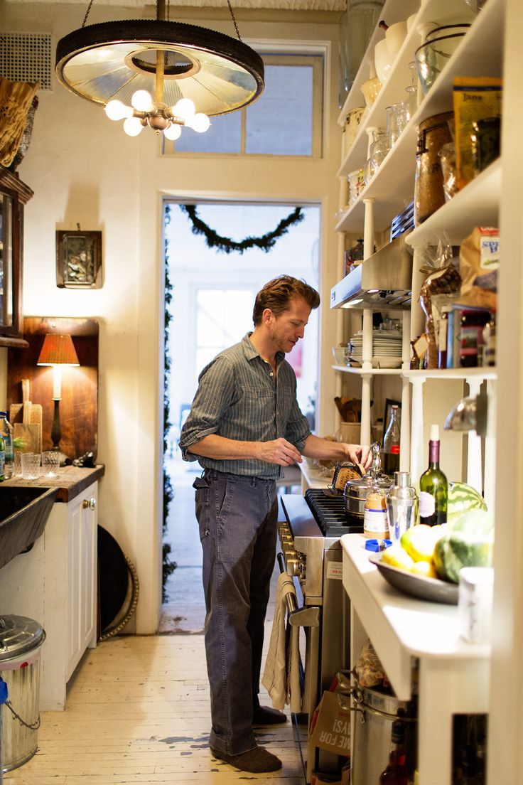 John Derian at home in NYC via The Selby