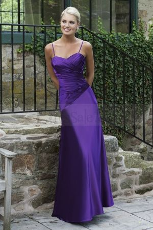 have to find a long strappy bright purple bridesmaid dress for my brother's wedding!