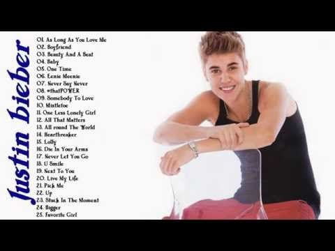 Justin Bieber's Greatest Hits - Best Justin Bieber Songs - YouTube
