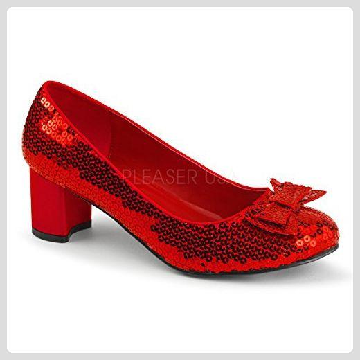Funtasma Der Zauberer von Oz-Schuhe Dorothy-01 rot Gr. 39 - Damen pumps (*Partner-Link)