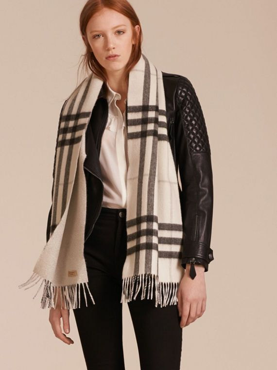 burberry crossbody bag outlet qpy4  A Scottish-made Burberry cashmere scarf to adapt to your style, designed in  check