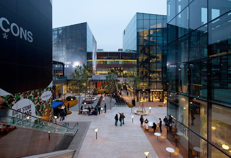 sanlitun village sunken plaza - Google Search