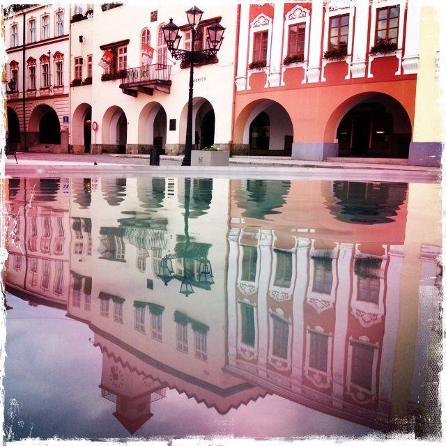 Mirroring..., square Nový Jičín, CZ   Flickr - Fotosharing!