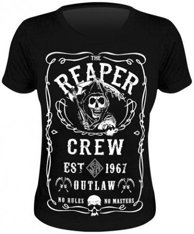 Tee Shirt Femme SONS OF ANARCHY - Jack Reaper - T-Shirts - www.rockagogo.com