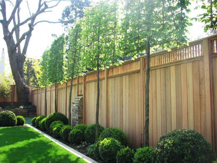 De 25 Bedste Id Er Inden For Panneau Cloture Bois P Pinterest Panneau Bois Jardin Occultant