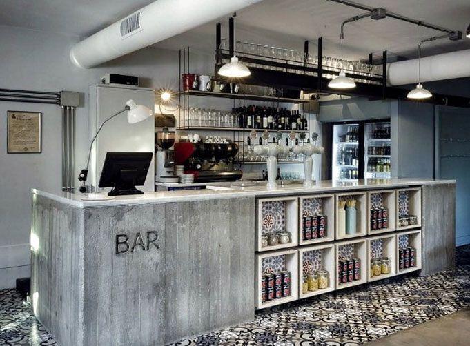 Oh hello, beautiful bar! Kook Restaurant in Rome | Rue