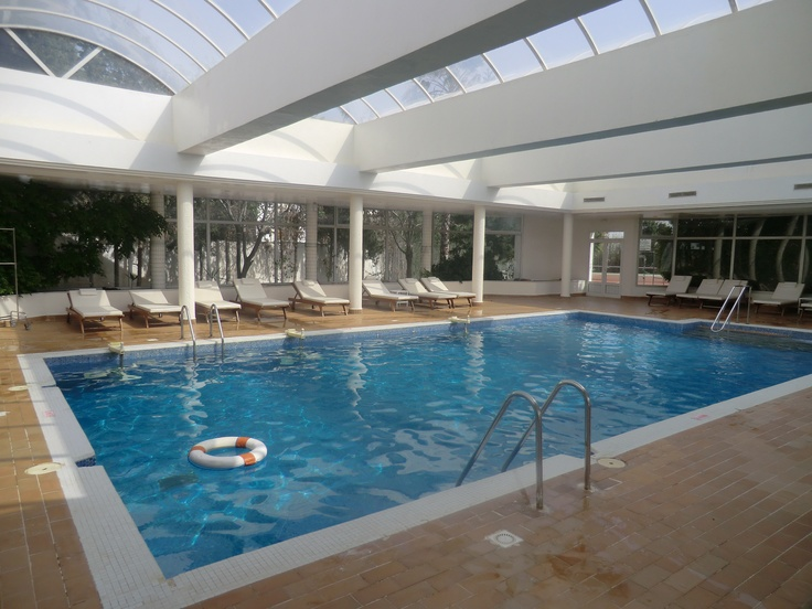 Piscine int rieure h tel hasdrubal thalassa spa for Piscine interieure
