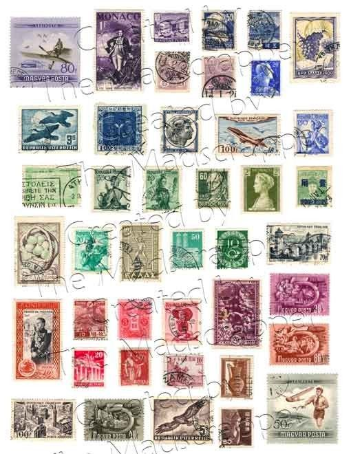 postage stamps!! You can never have too many stamps! There is always someone to send a note to!