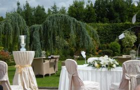 Civil Ceremony in Garden