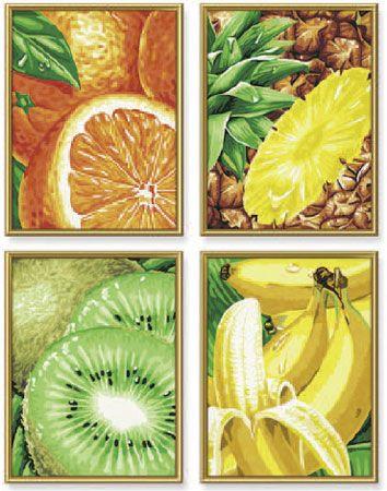 Tutti Frutti Exotische Früchte