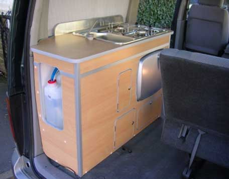 17 best images about getting mobile on pinterest toilets for Campervan kitchen ideas