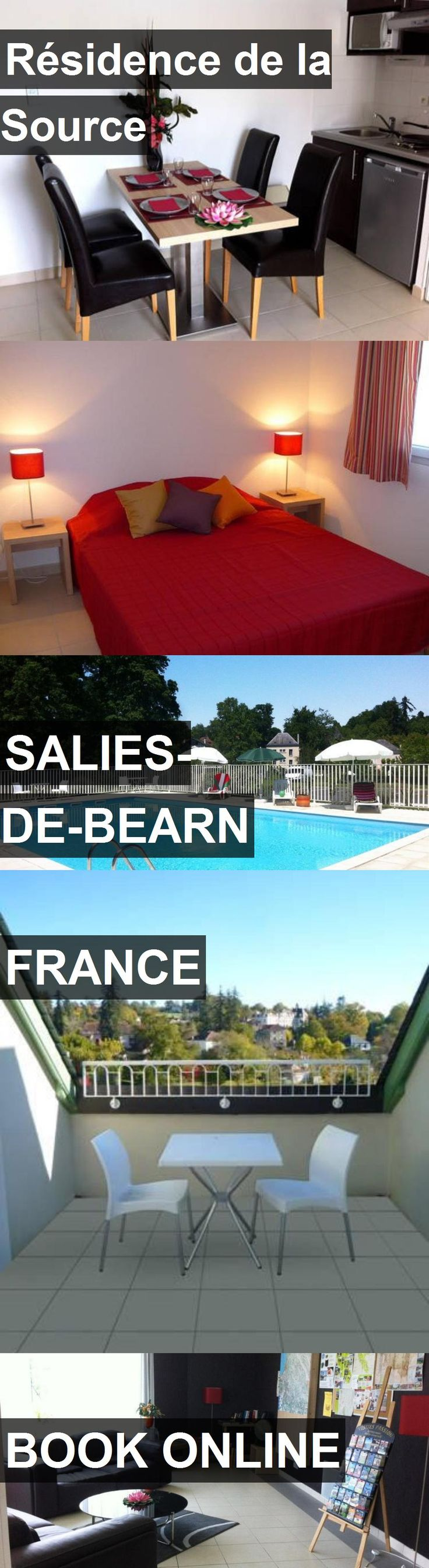 Hotel Résidence de la Source in Salies-de-Bearn, France. For more information, photos, reviews and best prices please follow the link. #France #Salies-de-Bearn #travel #vacation #hotel