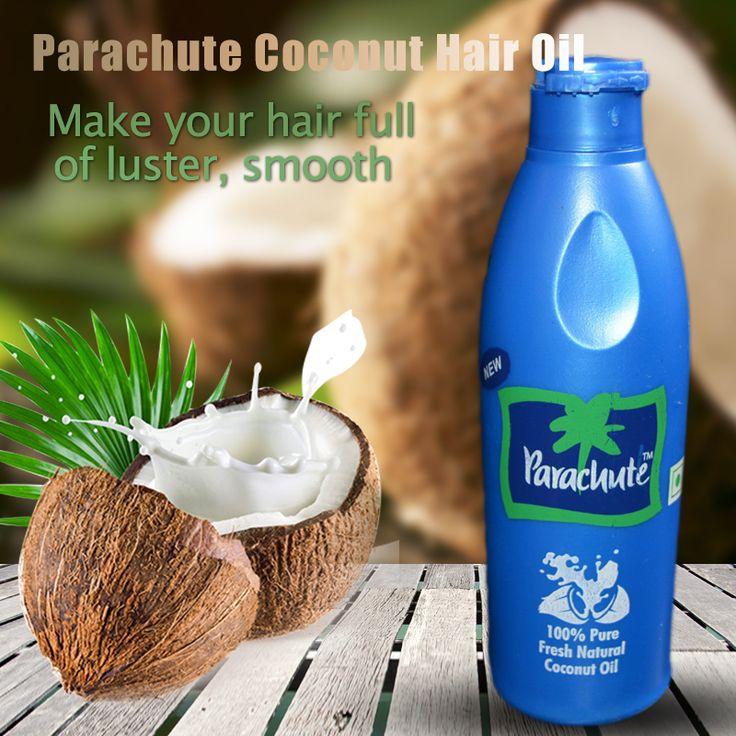 1 unid de 200 ml o 90 ml Aceite De Coco Virgen India Paracaídas Portador 100% pure cocos extracto de jazmín aceite de aceite para el pelo piel cuidado